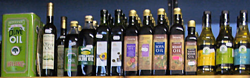 Organic vegeable oils